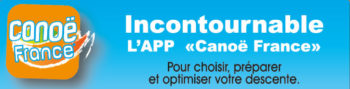 L'application mobile Canoë France